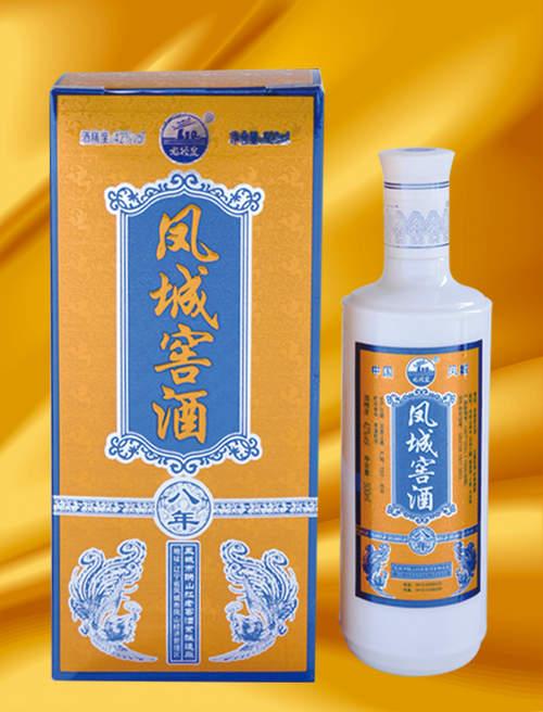 凤城窖酒八年