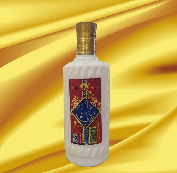 千年凤酿(圆瓷瓶)